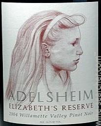 2014 Adelsheim Elizabeth's Reserve