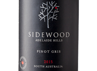2015 Sidewood Pinot Gris