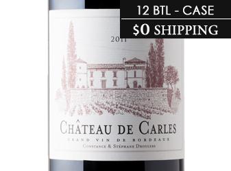 2011 Château de Carles Grand Vin CASE
