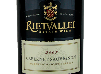 2007 Rietvallei Estate Cab Sauv