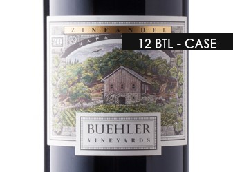 2015 Buehler Vineyards Zinfandel Case
