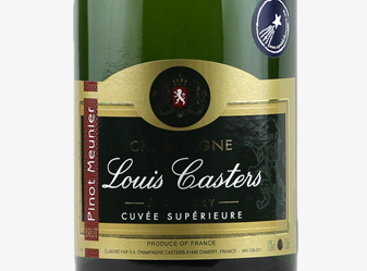 NV Louis Casters Blanc de Noirs