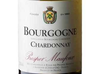 2016 Prosper Maufoux Chardonnay