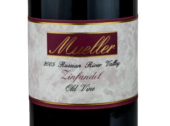 2005 Mueller Old Vine Zinfandel