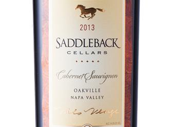 2013 Saddleback Cabernet Sauvignon