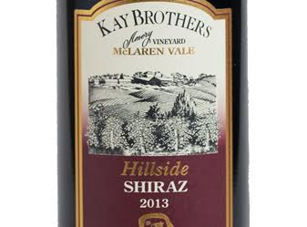 2013 Kay Brothers Hillside Shiraz