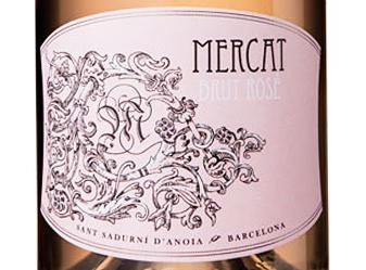 NV Mercat Cava Brut Rose
