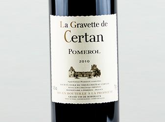 2010 La Gravette de Certan, Pomerol