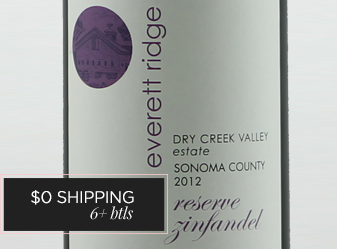 2012 Everett Ridge Estate Zinfandel