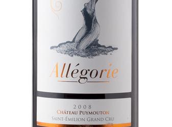 2008 Chat Puy Mouton Allégorie