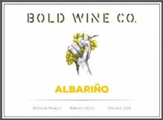 2018 Seabold BOLD Wine Co. Albariño