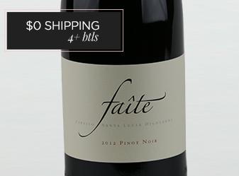 2012 Faite 'Paraiso' Pinot Noir