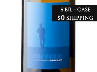 2017 Folk Machine Chenin Blanc ½ Case