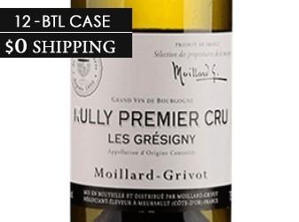 2013 Moillard Grivot Rully 12btl Case