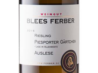 2015 Blees-Ferber Auslese Riesling