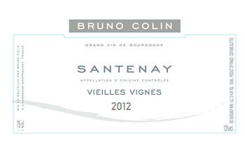 2012 Bruno Colin Santenay