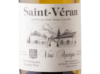 2013 Auvigue Saint-Véran Blanc