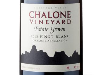 2013 Chalone Estate Pinot Blanc