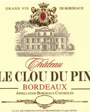 Chateau Clou du Pin