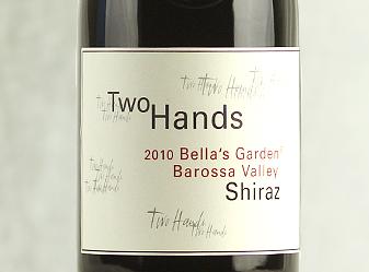 2010 Two Hands Sophie's GardenShiraz